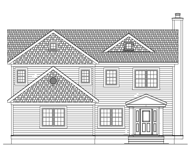 6 Canoe Brook Place, Summit NJ 07901. New construction home to be built.